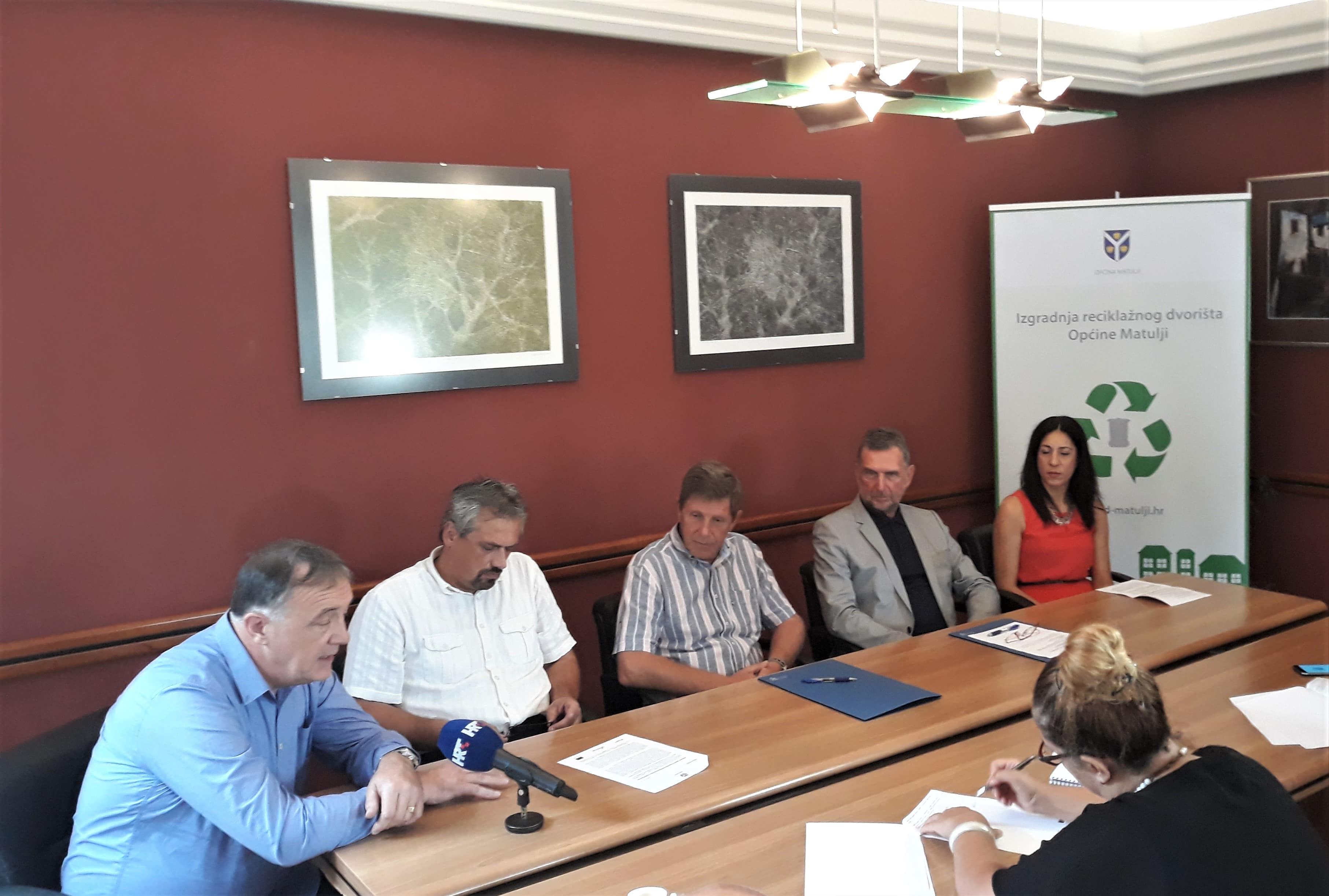 Potpisan ugovor o izgradnji reciklažnog dvorišta u Općini Matulji