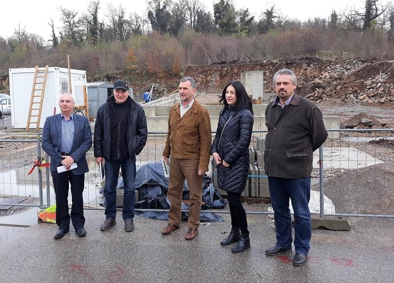 Radovi na izgradnji reciklažnog dvorišta napreduju prema planu izgradnje