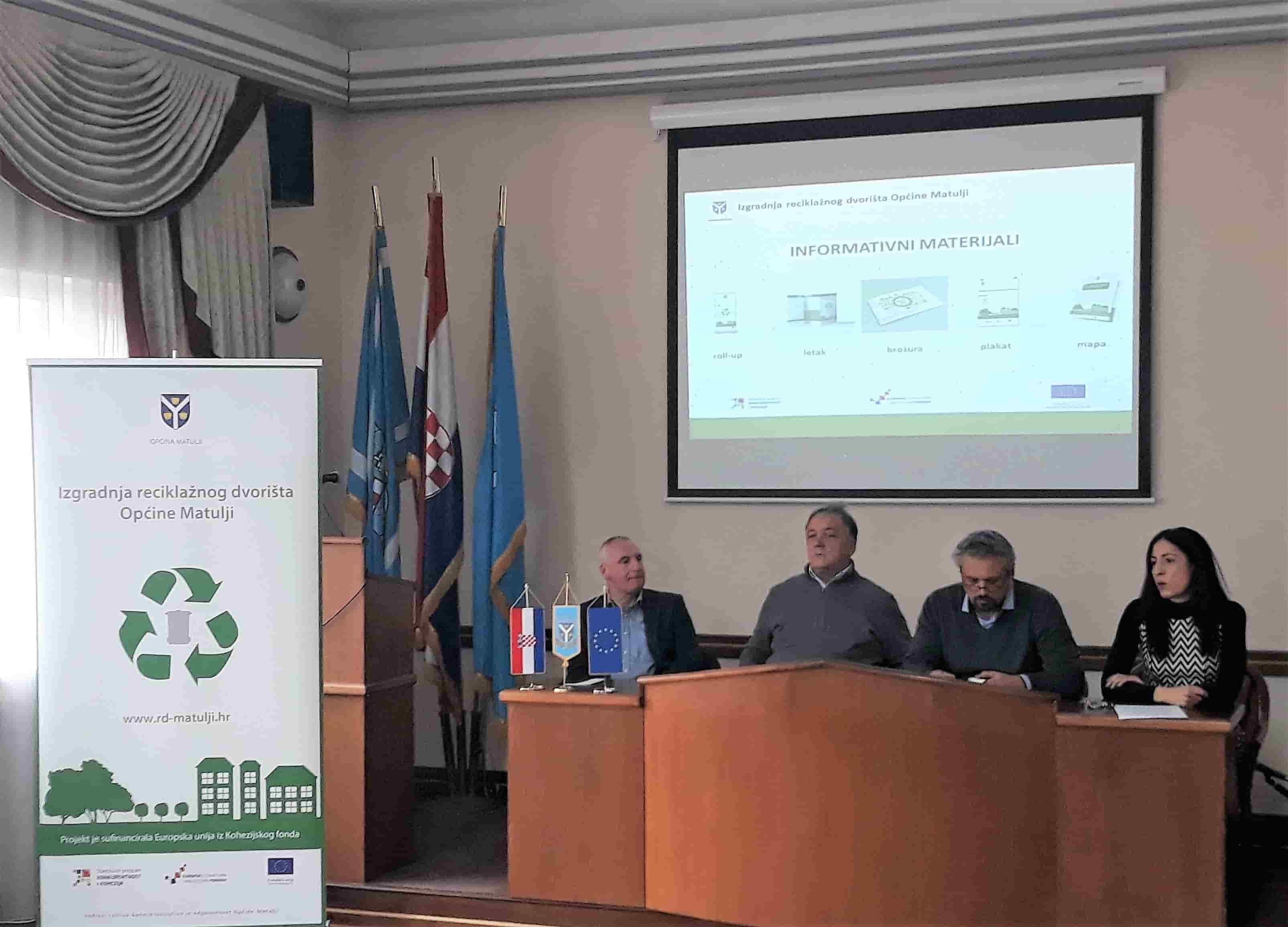 Građani upoznati sa ulogom reciklažnog dvorišta u cjelovitom sustavu gospodarenja otpadom